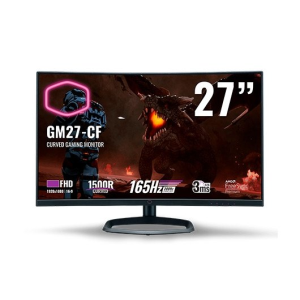 "Cooler Master GM27-CF 27"" - LED - Full HD - 165Hz - FreeSync - Curvo - Monitor Gaming"