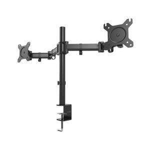 "1Life 1IFESPT1327DUALM soporte para monitor 68,6 cm (27"") Abrazadera/Atornillado Negro"