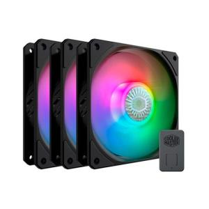 Cooler Master SickleFlow 120 ARGB Carcasa del ordenador Ventilador 12 cm Negro 3 pieza(s)