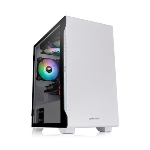 Thermaltake S100 Tempered Glass Snow Edition Micro Tower Blanco - Caja Ordenador