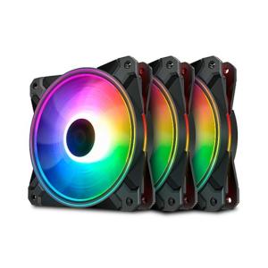 Deepcool CF120 PLUS 12cm - RGB PACK 3UDS - Ventilador