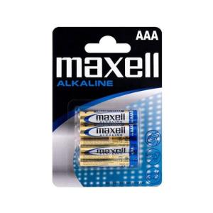 Maxell Battery Alkaline LR-03 AAA 4-Pack Batería de un solo uso Alcalino