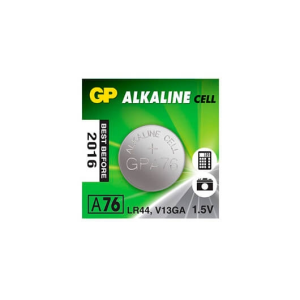 PILA ALCALINA GP LR44 A76 BLISTER 15V G343