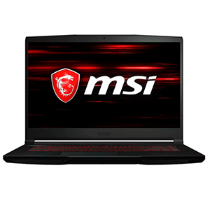 "MSI Gaming GF63 10SCSR-1051XES Thin DDR4-SDRAM Portátil 39,6 cm (15.6"") 1920 x 1080 Pixeles Intel® Core™ i7 de 10ma Generación"