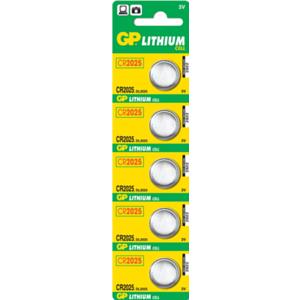 GP Batteries Lithium Cell CR2025 Batería de un solo uso Litio