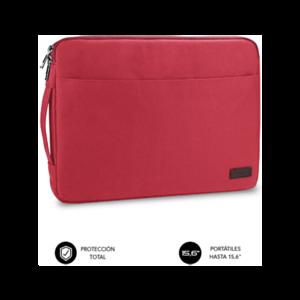 "Subblim Urban Laptop Sleeve 15,6"" Roja - Funda"