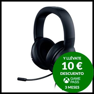 Razer Kraken Lite - Negro -PC-PS4-PS5-XBOX-SWITCH-MOVIL - Auriculares Gaming