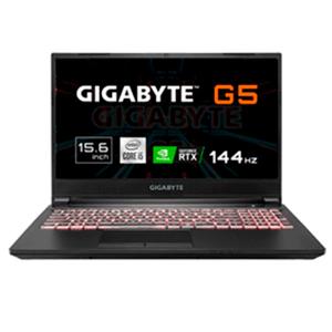 Gigabyte G5 KC-5ES1130SD - i5-10500H -RTX 3060 - 16GB RAM-512GB SSD - 15'6 144Hz - FreeDOS - Ordenador Portatil Gaming