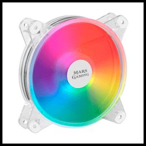 Mars Gaming MFD Ventilador PC 120mm Transparente