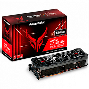 PowerColor Red Devil AXRX 6900XTU 16GBD6-3DHE/OC AMD 16 GB GDDR6