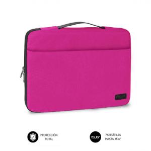 "Subblim Elegant Laptop Sleeve 15,6"" Rosa - Funda Portatil"
