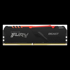 Kingston Technology FURY Beast RGB 8GB 1x8 GB DDR4 3600 MHz - Memoria RAM