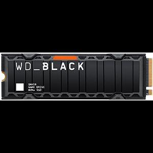 WD SN850 M.2 500 GB PCI Express 4.0 NVMe - Con disipador - Compatible con PS5 - Disco Duro Interno