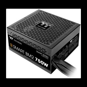 Thermaltake Smart BM2 unidad de fuente de alimentación 750 W 20+4 pin ATX ATX Negro