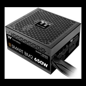 Thermaltake Smart BM2 unidad de fuente de alimentación 650 W 20+4 pin ATX ATX Negro