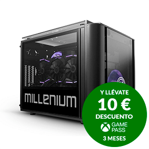 Millenium Sejuani Ryzen 9 - RTX 3070 - 16GB - 480GB SSD - 1TB HDD - W10 - Ordenador Sobremesa Gaming