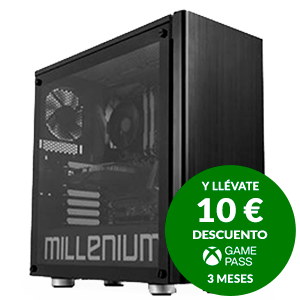 Millenium Shen - Ryzen 9 3,9 GHZ - RTX3070 8 GB - 16GB - 240GB SSD - 2TB HDD - W10 - Ordenador Sobremesa Gaming