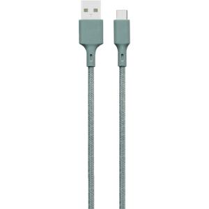 Bigben Connected JGCBLCOTAC2MNG USB A USB C 2m Verde - Cable USB