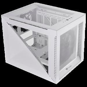 Thermaltake Divider 200 TG Micro ATX - Blanco - Caja Ordenador