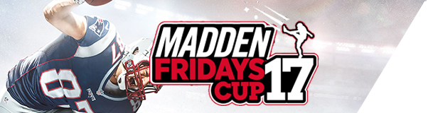 Madden 17 Fridays CUP