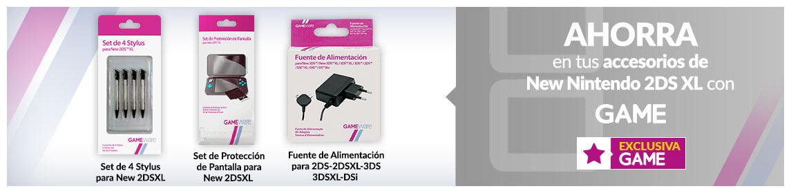 Accesorios New Nintendo 2DSXL GAMEware