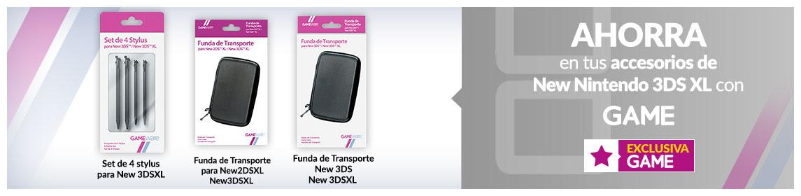 Accesorios New nintendo 3DSXL GAMEware
