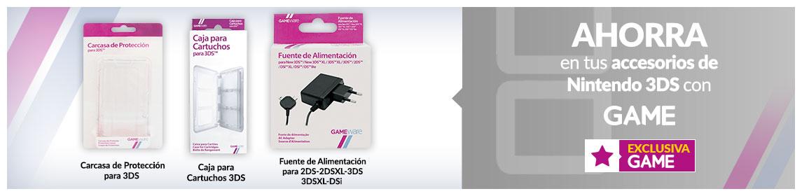 Accesorios Nintendo 3DS GAMEware