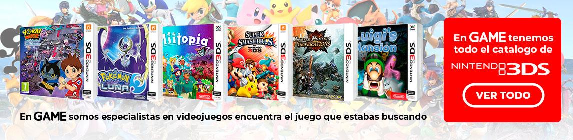 Catálogo juegos 3DS