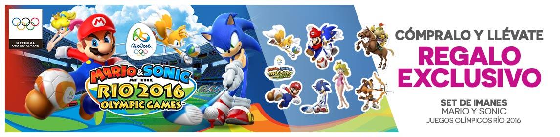 Mario & Sonic en los JJOO de Río 2016