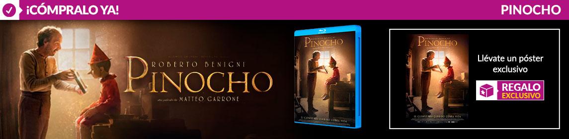 ¡Novedad! Pinocho + poster