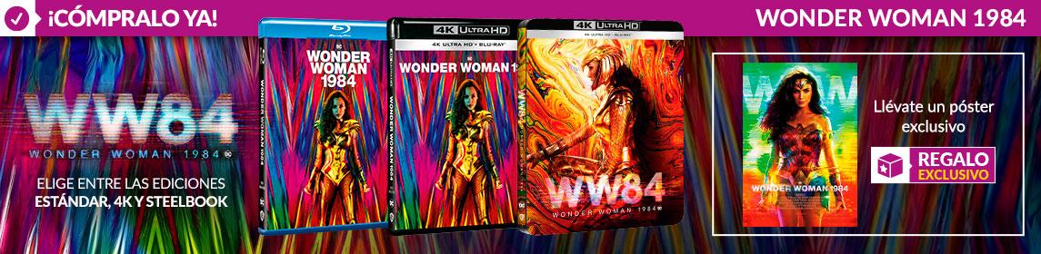 ¡Novedad! Wonder Woman 1984 + poster