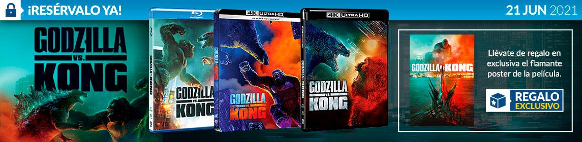 ¡Reserva! Godzilla vs King Kong + poster