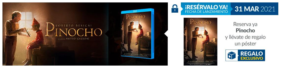 ¡Reserva! Pinocho + poster