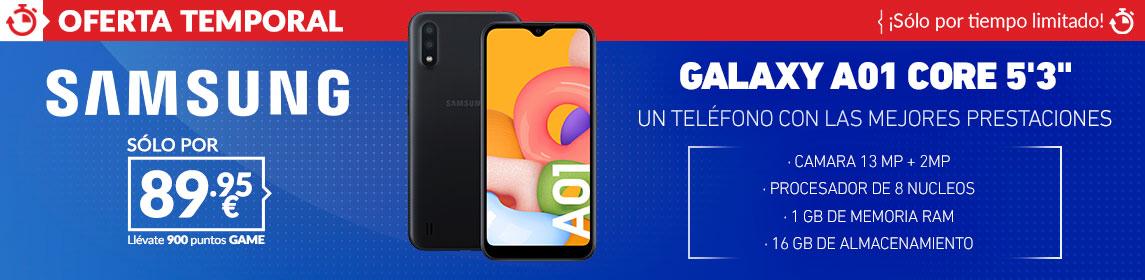 ¡Oferta! Samsung Galaxy A01 por 89,95€