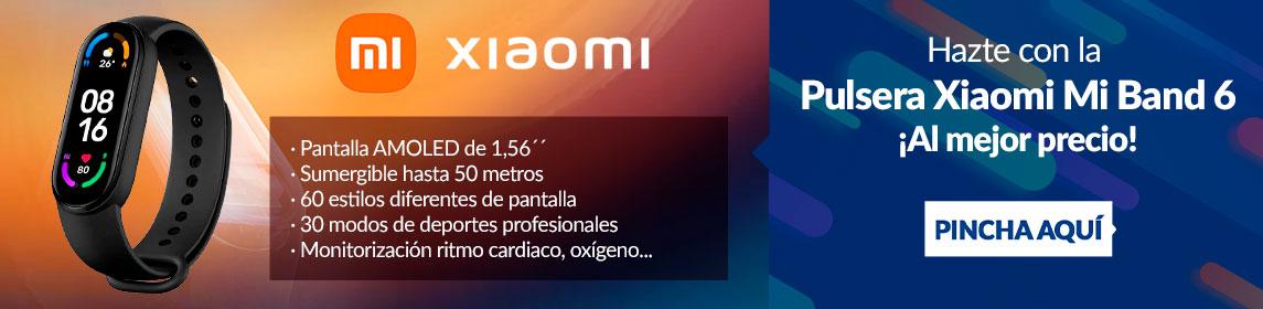 ¡Novedad! Xiaomi Mi Band 6