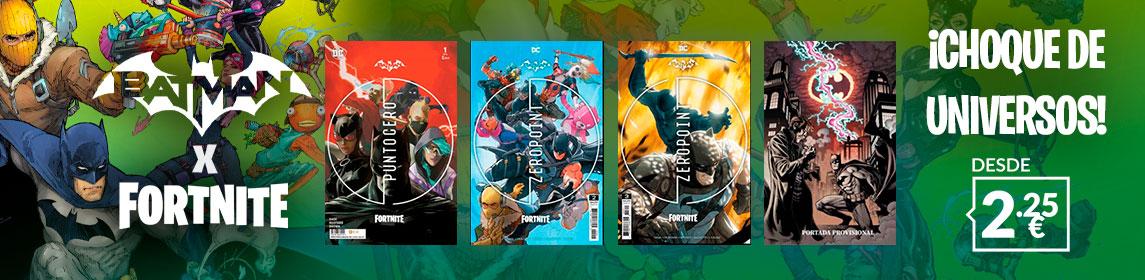 ¡Descubre! Nuevos Comics Batman Fortnite