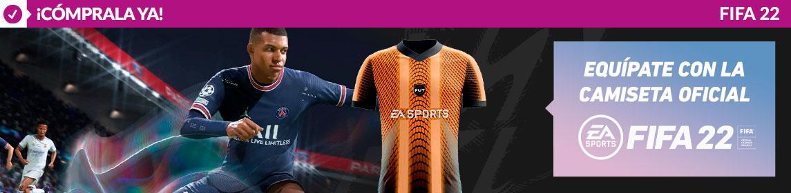 ¡EXCLUSIVA GAME! Camiseta Oficial FIFA 22