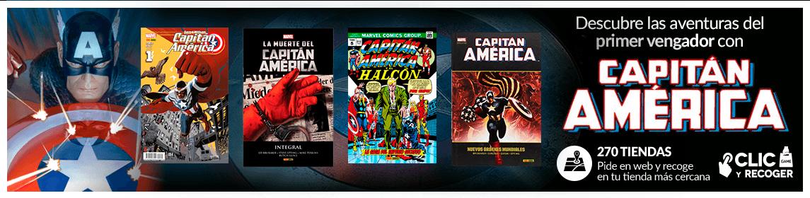 Colección cómics Capitán América