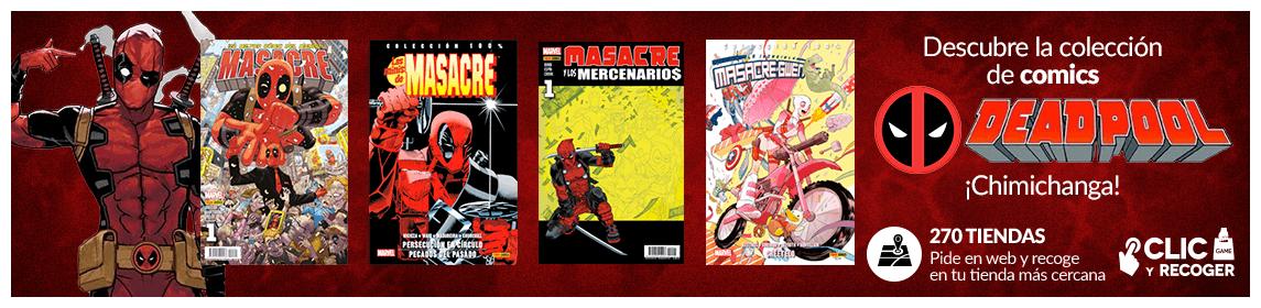 Colección cómics Deadpool - Masacre