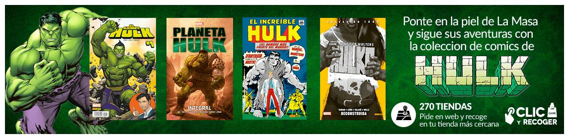 Colección de cómics HULK