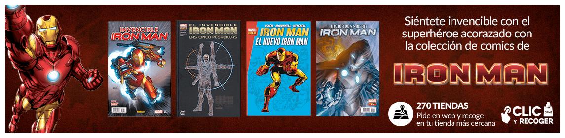 Colección de comics Iron-Man