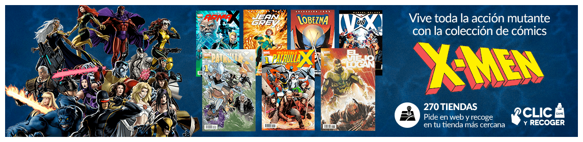 Colección cómics X-Men