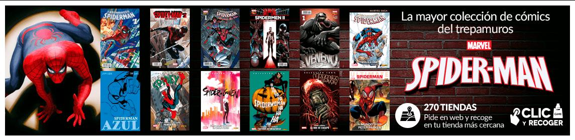 Colección de cómics SPIDERMAN