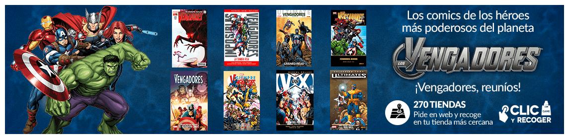 Colección de cómics VENGADORES