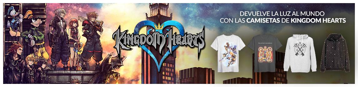 Camisetas Kingdom Hearts