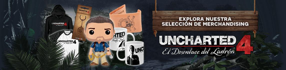 Merchandising Uncharted 4