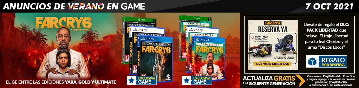 ¡Reserva! Far Cry 6 + DLC