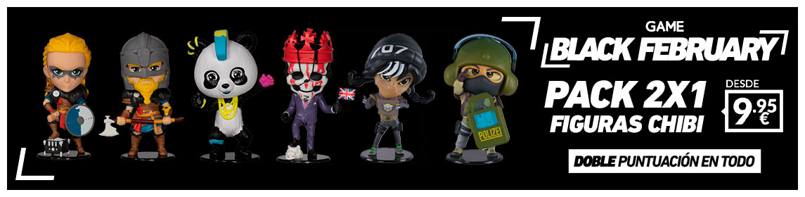 ¡Black February! Figuras Chibi