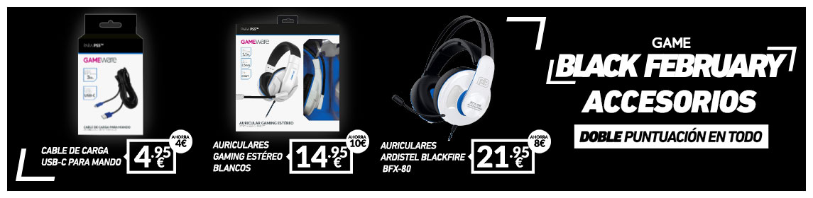 Black February Accesorios PS5