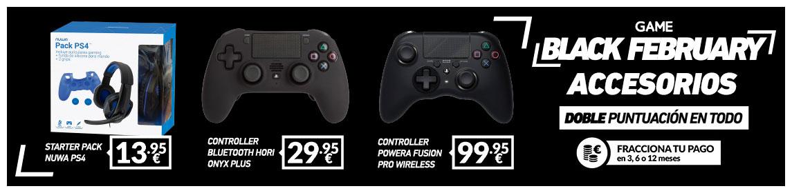 ¡BF! Accesorios PS4